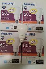 Philips 60 Watt Equivalent Soft White A19 LED Light Bulb -ENERGY CERT- 16 Pack