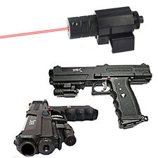 Tactical mini Red Laser sight Picatinny Rail for gun Rifle pistol Glock Scope 67