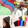 Magik Wool Beanie Knit Ski Cap Hip-Hop Mixed Color Winter Warm Unisex Korean Hat