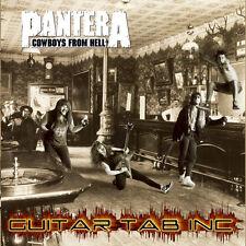 Pantera Digital Guitar & Bass Tab COWBOYS FROM HELL Lessons on Disc Dimebag