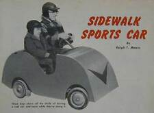 Sidewalk Sports Car 2-Seater Go-Kart 1955 How-To build PLANS