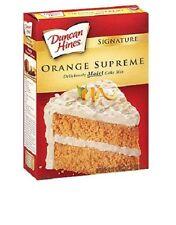 Duncan Hines Signature Orange Supreme Cake Mix 16.5 oz Box