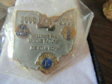 2008 2009 Lions Club Sg Stan Kopp Numbered Lapel Pin Back