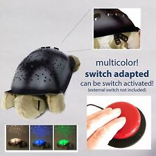 Switch Adapted Toy Turtle Light sensory color snoezelen special needs autism