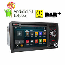 Audi A3/S3 2003-2013 Android 5.1 Quad Core Car Radio GPS Sat Nav DVD Stereo WiFi