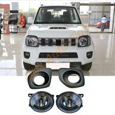 For Suzuki JIMNY JB23/JB33/JB43/JB53 1998+ Bumper Bezel LED Bulb Fog Light k Kit