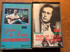 Paco De Lucia [2 MC]  Entre dos aguas + Hispanoamerica
