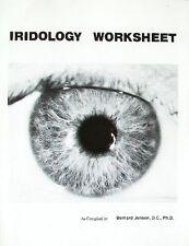 IRIDOLOGY WORKSHEET - Bernard Jensen