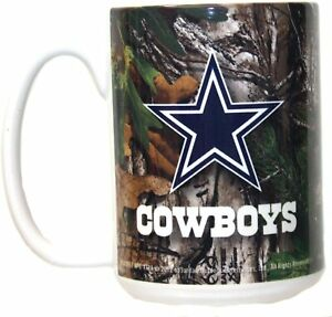 NFL Dallas Cowboys 15oz Realtree Camo Mug