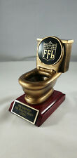 Fantasy Football Toilet Bowl Last Place Trophy/Award