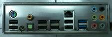 1pcs NEW I/O shield MSI 990FXA-GD65 io NEU P67S-C43 P67A-S40 backplate  #G60 XH