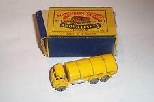 MATCHBOX *1953  MOKO LESNEY# 11-3 ERF ROAD TANKER YELLOW  type B BOX ORIGINAL