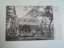 G27 Rare Old Postcard Bramley, St Peters Church Franked+Stamped 1905