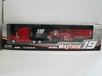 "Kenworth Renntransporter NASCAR ""Jeremy Mayfield Nr.19"", OVP, Action, 1:64"