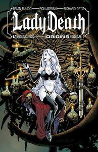 Lady Death Origins Volume 1 GN Richard Ortiz Adrian Brian Pulido Bad Girl New NM