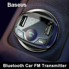 Baseus Wireless Bluetooth FM Transmitter 2 USB Car Charger Adapter Radio Player