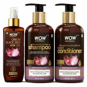 WOW Skin Science Onion Oil Ultimate Hair Care Kit, Pack of 1