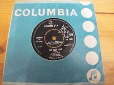 """DB 7499 UK 7"""" 45RPM 1965 YARDBIRDS (CLAPTON) """"FOR YOUR LOVE / GOT TO HURRY"""" EX"""