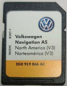 2016 2017 VW VOLKSWAGEN  PASSAT SEL V3 NAVIGATION SD CARD 3G0 919 866 AC