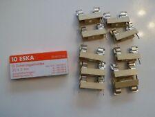 ESKA G-backup Flink 3,15a 250v 5x20mm * 10 pezzi ** con fuseholder ** NUOVO *