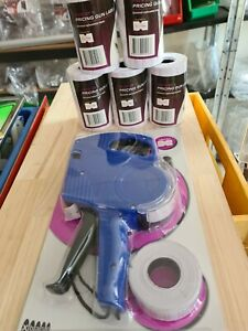 Price Gun + 27,000 labels and spare ink roller