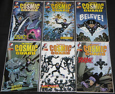 Modern Devil's Due/Dynamite COSMIC GUARD 6pc Count High Grade Comic Lot #1-6