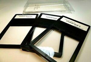 """LINDAHL Lite 1 2 Soft Set of 3 kit Drop in Lens Filter square 3X3"""" 23.3125"""