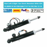 Pair Rear Suspension Gas Shock Absorbers VDC Fit BMW X5 X6 X5M X6M F15 F16 F85