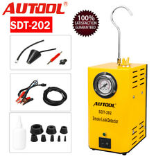 AUTOOL Automotive Smoke Machine Leak Detector Diagnostic Emissions Vacuum Tester