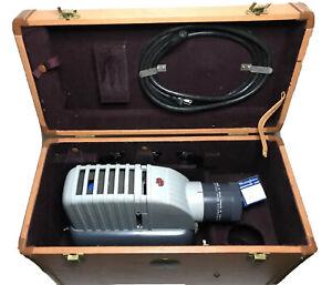 Vtg Kodak Kodaslide Projector Master Model W/ Case Accessories And Extras WORKS
