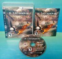 IL 2 Sturmovik Birds of Prey - Sony PlayStation 3 PS3  Game Tested Jet Fighter