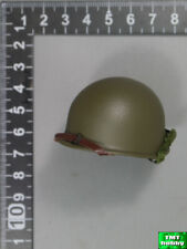 1:6 Scale DID A80140 WWII 2nd Ranger Private Caparzo - Metal M1 Helmet