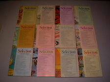 #27 Lot of all 12 months Sélection du Reader's Digest Complete Year 1971