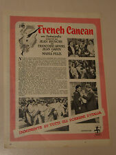 FILM FRENCH CANCAN MARIA FELIX FRANCOISE ARNOUL=ANNI '50=ADVERTISING=310
