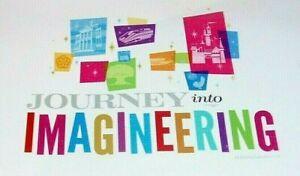 DISNEY IMAGINEERING NOTEBOOK W/ DISNEYLAND HAUNTED MANSION STAR TOURS ETC