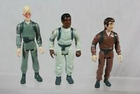 Vintage Ghostbusters Action Figure Bundle 1984 Peter Winston Egon Backpack