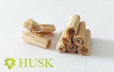 Hand Rolled Corn Husk Filter Tips ca 9mm-10mm 25pcs  100% Natural, Compostable