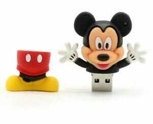 16GB Cute Mickey Mouse USB 2.0 Memory Stick Flash Data Pen Drive