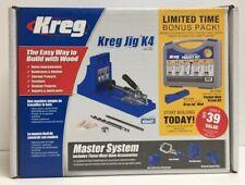 (New) Kreg Jig K4 Master System with bonus pack