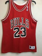 Michael Jordan #23 CHICAGO BULLS Vintage 90's SZ 44 Large NBA Basketball Jersey