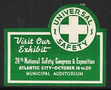1939 National Safety Congress and Exposition in Atlantic City - White Cross