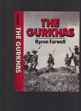 The Gurkhas, by Byron Farwell, 1984 first edition with dust jacket, hardcover
