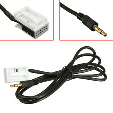 3.5mm Aux Adaptor In Input Audio Cable For Citroen Peugeot 307 MP3 iPod iPhone