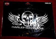 Harley Davidson Soldier Skull 2X Patch EM1025006 (A)