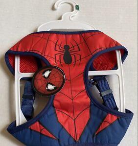 Nickelodeon Marvel Spiderman Pet Dog Harness Size Large Adjustable NWT