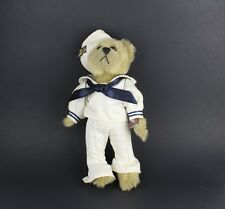 Pickford Brass Button Teddy Bears 20th Century Collectibles Navy Officer Plush