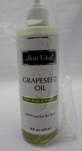 bon vital grapeseed oil 8 oz bottle
