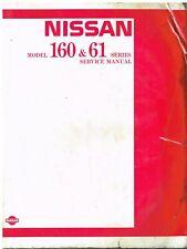 NISSAN PATROL 160 SERIES 2.8 4.0 PETROL 3.2 DIESEL '80-89 FACTORY SERVICE MANUAL