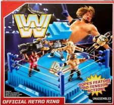 WWE OFFICIAL RETRO WRESTLING RING ACTION MATTEL FIGURE HASBRO WWF FMJ11 6 5 4 3