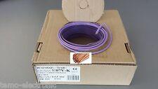 H07V-K 1,5mm² 100m. Ring VIOLETT PVC-Aderleitung 1x1,5 / Grundpreis 0,19€/m.